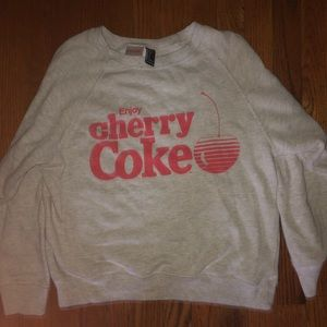 Tops - Coca-cola sweatshirt